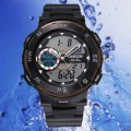 OHSEN – AD1312-1: Dual System Alarm / Chronograph Sports Watch