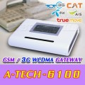 A-TECH-6100 : GSM + 3G (WCDMA) VOICE GATEWAY