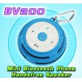 SEE-ME-HERE BV200: Mini Portable Wireless Bluetooth Phones Handsfree Speaker