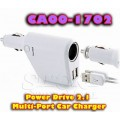 Power Drive 2.1 Multi-Port Car Charger