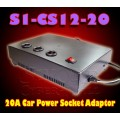S1-CS12-20 :  AC100-220V-To-DC12V/20A Car Power Socket Adaptor