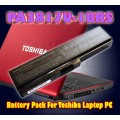 Battery Pack For Toshiba Laptop PC - PA3817U-1BAS, PA3817U-1BRS, PA3819U-1BRS, PABAS228