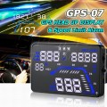 GPS-07 Car GPS HUD With Speed Warning [GPS Head-Up Display]