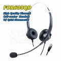 HION FOR600QD – Binaural Headset For Landline Telephone  Call Center