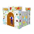 Baby Mamy Chinese Castle Paper House - White/Blue
