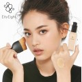 EITY EIGHT LIQUID FOUNDATION SPF30 PA+++  EITY EIGHT CURVED FACE BRUSH รองพื้น+แปรง