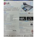 LG Bluray External Portable Slim Drive BP40NB