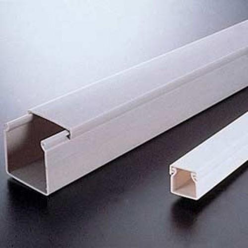 รางพีวีซี,วายดักเบอร์8080 สีขาว ขนาด 8ซม.x8ซม. ยาว2เมตร Call0869000942