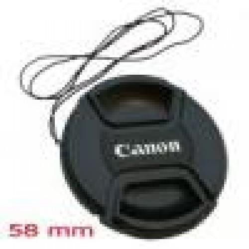 ฝาปิดเลนส์แคนนอน ขนาด 58 มม.CANON LENS CAP 58mm.