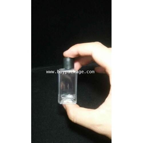 ขวดพลาสติกใส(PET) 30 cc (สี่เหลี่ยม)