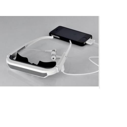 แว่นตาวิดิโอโฮมเธียเตอร์iphone ipod ipad