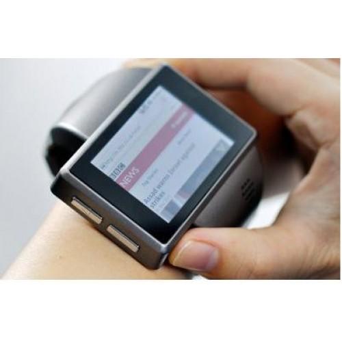 นาฬิกาโทรศัพท์Andriod watch phone Rock (สีเทา)แถมฟรี ไมรโครSD Card 8GB