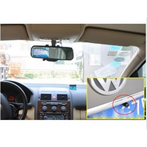 กล้องติดรถยนต์กระจกมองหลังAndroid กล้องหน้าพร้อมกล้องถอยหลังรุ่นMaxiss