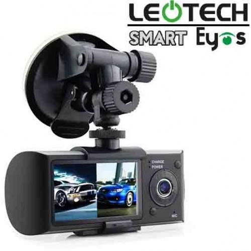 กล้องติดรถยนต์ Smart Eyes แบบ 2 เลนส์ พร้อม GPS LOG