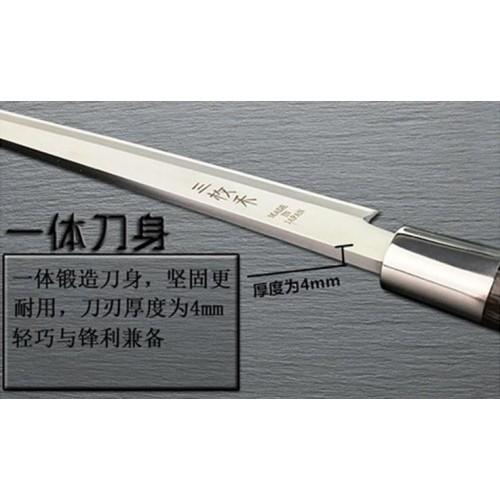 มีดเชฟ ญี่ปุ่นยานากิบะ ใบมีดยาว 33 เซนติเมตร ด้ามจับไม้เนื้อแข็ง เกรดพรีเมี่ยม