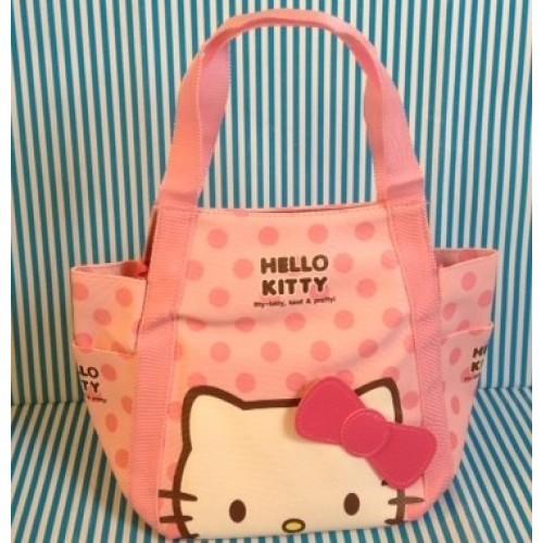 กระเป๋าสะพาย ไหล่ คิตตี้ Kitty มีช่องด้านข้าง ปากกระเป๋าตรงช่วงกลางมีซิปค่ะ