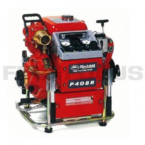 ปั๊มน้ำดับเพลิง รุ่น P408R, 43 แรงม้า ยี่ห้อ RABBIT