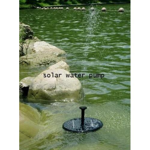ปั้มน้ำพุพลังงานแสงอาทิตย์แบบไร้สาย