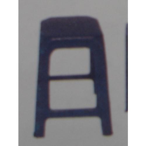 DC-581 เก้าอี้พลาสติก  เส้นผ่านศูนย์กลาง  31*31*45  ซม.