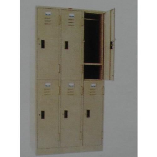 LK-106 ตู้ล๊อคเกอร์ 91*45*183 ซม.
