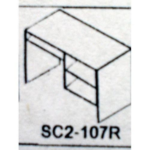 SC2-107R  โต๊ะคอมพิวเตอร์และปริ้นเตอร์  120*60*75  ซม.