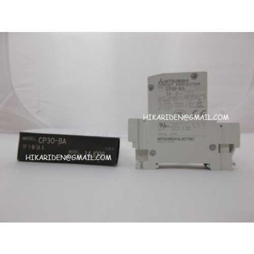 CP30-BA 1P 1-M 5A A MITSUBISHI ราคา 410 บาท