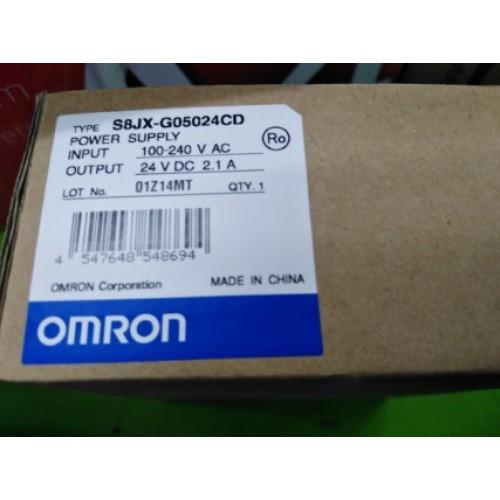 OMRON S8JX-G05024CD 100-240V ราคา 1200 บาท