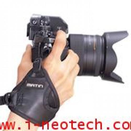 NT-MT-M6742 สายรัดข้อมือกล้อง MATIN รุ่น  M-6742 กริ๊ป-๒ นีโอพรีน สีดำ
