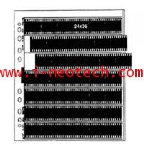 NT-MT-M9380 ไส้แฟ้ม MATIN สำหรับฟิล์ม 35มม รหัส M-9380 (25แผ่นแพ็ค)