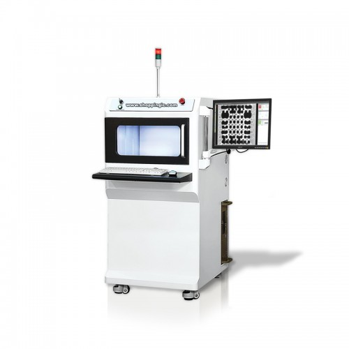 "Standard features of the X1000 X-Ray Inspection System include; A 2""x2"" digital flat panel x-ray det"