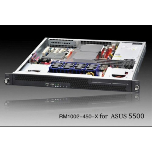 Guoxin RM1002-450-X 1U server chassis 2 HDD 1U server chassis short