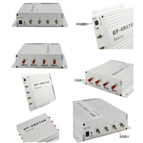ชุดกล่องรับ-ส่งสัญญาณภาพระยะไกล 2.4G1W GF-34R6788 Receiver