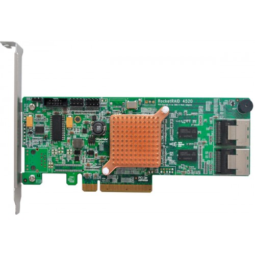 Rocket Highpoint RocketRAID 4520 RR4520 Mac Apple 6G array card system