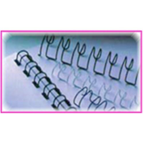 สันขดลวดIBIWIRE 2ข้อ:1 นิ้วขนาด 14มม.สีขาว(รูสี่เหลี่ยมผืนผ้า)100อันกล่อง