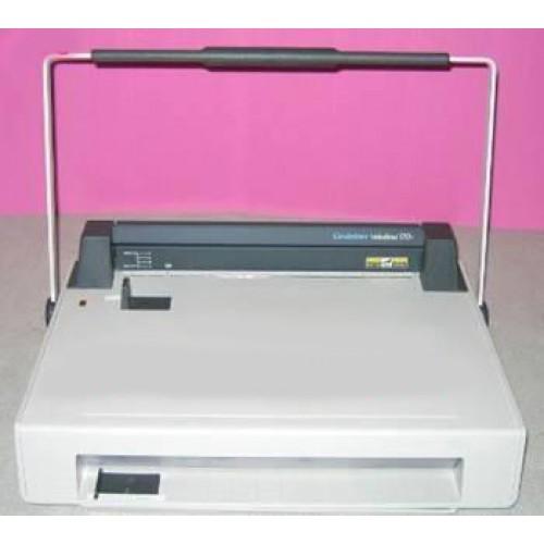 สันตะปู 1 นิ้ว 12 เข็ม สีขาว (100คู่กล่อง)VeloBind Strip S1 25X297mm White (100)