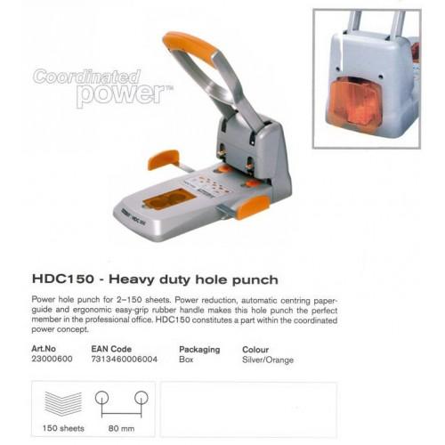 เครื่องเจาะกระดาษราปิด RAPID HDC150 (เจาะ 2 รู หนา150 แผ่น)
