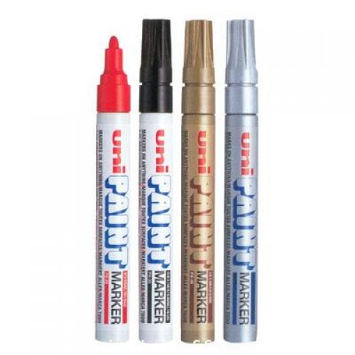 ปากกาเพ้นท์ ยูนิ PX-20สีแดง