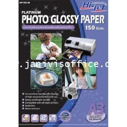 กระดาษอิงค์เจ็ท Hi-jet NP153-10 A3 150Gsm.