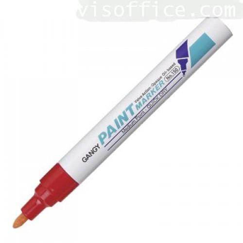 ปากกาเพ้นท์ เกนจี้ 150 2.3 มม.แดง (gangy paint marker)