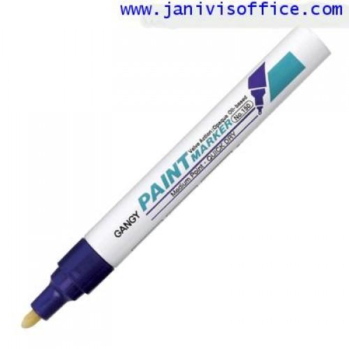 ปากกาเพ้นท์ เกนจี้150   2.3 มม.สีม่วง(gangy paint marker)