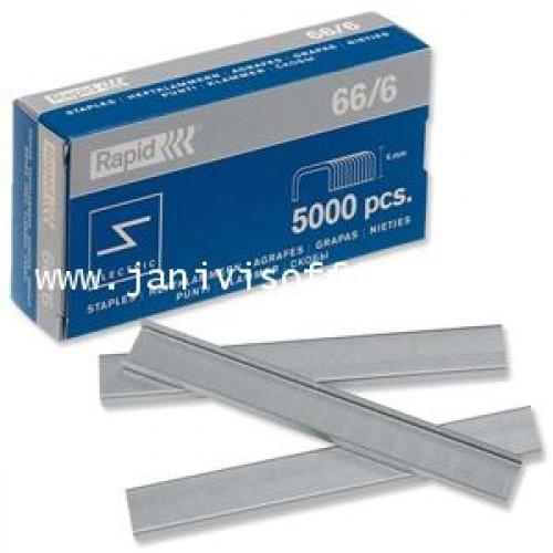 ลวดเย็บราปิด666( RAPID666)5,000ตัวกล่อง