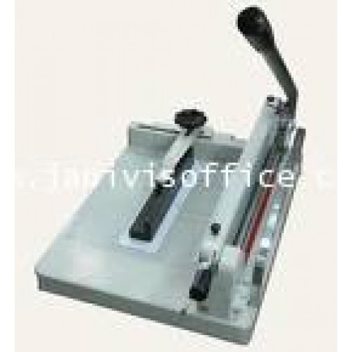 เครื่องตัดกระดาษมือโยกJANIVIS  A4 ราคารวมขาตั้ง