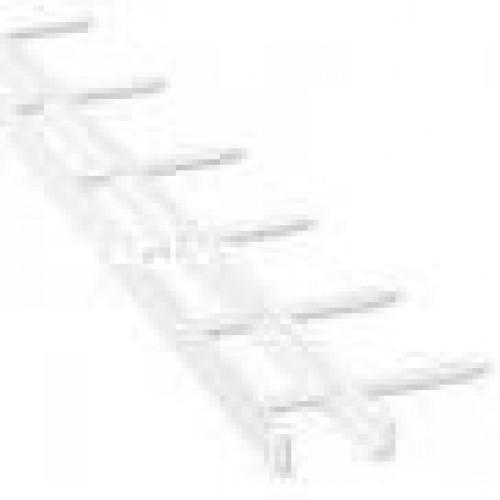 สันตะปู 2 นิ้ว 12 เข็ม สีขาว (100คู่กล่อง)VeloBind Strip S1 51X297mm White (100)