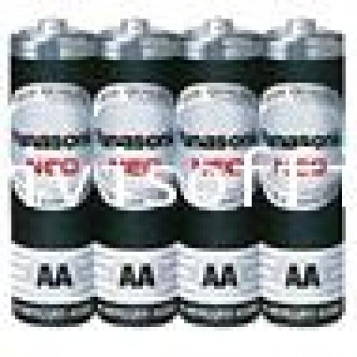 ถ่านไฟฉาย พานาโซนิค NEO R6NT4SL (AA) ไซด์เล็กสีดำ ราคา4ก้อนแพ็ค