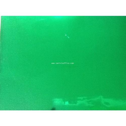 ฟรอยส์เลเซอร์สีA4 x20แผ่น สีเขียวเงา