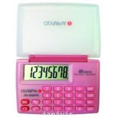 เครื่องคิดเลขOLYMPIA OP-5800 pink