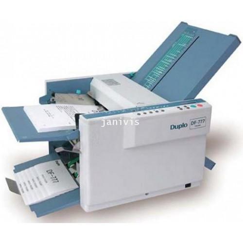 เครื่องพับกระดาษ ยี่ห้อ ดูโปร รุ่น DF-777 Paper Folder