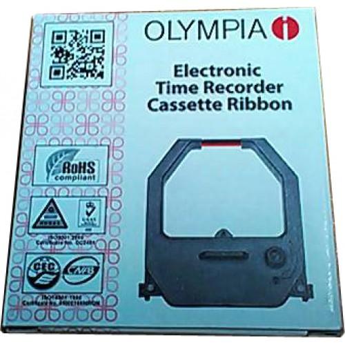 ผ้าหมึกเครื่องตอกบัตร โอลิมเปีย ET5800(Time Recorder Ribbon for Olympia)