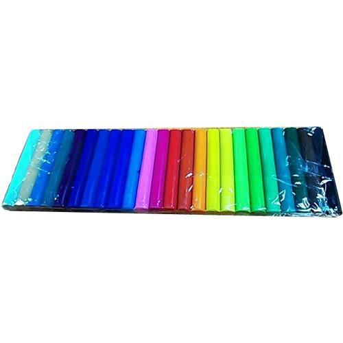 ดินน้ำมันไร้สารพิษNEW CLAY no.JS-500 (Non-Toxic Clay) 24สีต่อแพ็ค