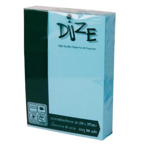 กระดาษสีถ่ายเอกสาร DIZE 80แกรม A4